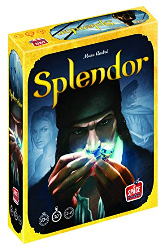 Splendor Board Game (Base Game) | Strategy Game for Adults and Family | Fun Game for Game Night |...