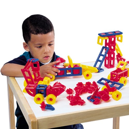 Constructive Playthings Mobilo Large Set - 120 Pieces