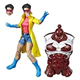 Marvel Hasbro Legends Series 6' Collectible Action Figure Jubilee Toy (X-Men Collection)  with Caliban Build-A-Figure Part