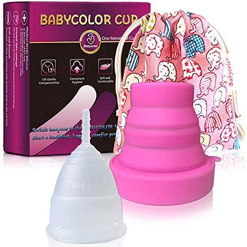 Copa Menstrual-copa menstrual más recomendada-Incluye una bolsa de regalo - Silicona...