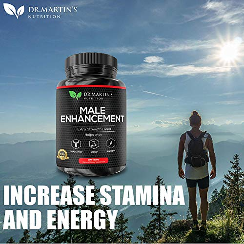 Male Enhancement Supplement | 180 Capsules | 3 Month Supply | Boosts Energy, Testosterone, Endurance & Enhances Muscle Growth | with Gingseng, Maca, Tongkat Ali | Healthy Weight Loss and Fat Burning 2