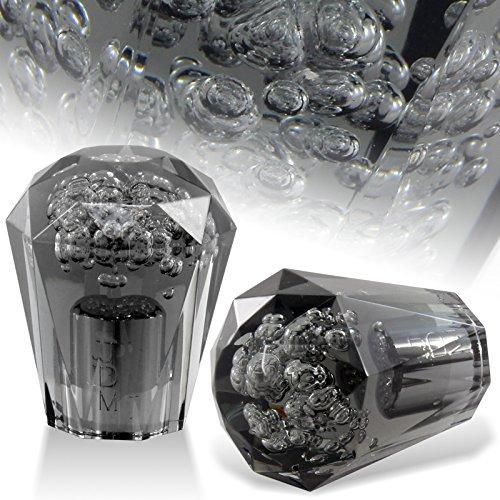 HK5 Universal JDM Crystal/Diamond Style 60mm Transparent Black Bubble Shift knob