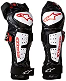 Alpinestars Men's Moab Knee/Shin Guard, Black/White, Large/X-Large
