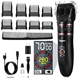Hair Clippers for Men Professional-Dlamer Hair Cutting Kits& Rechargeable Cordless Barber Clippers...