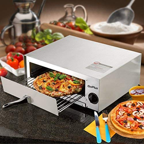 Electric Pizza Oven Stainless Steel Pizza Baker for Kitchen Commercial Use, Snack Oven