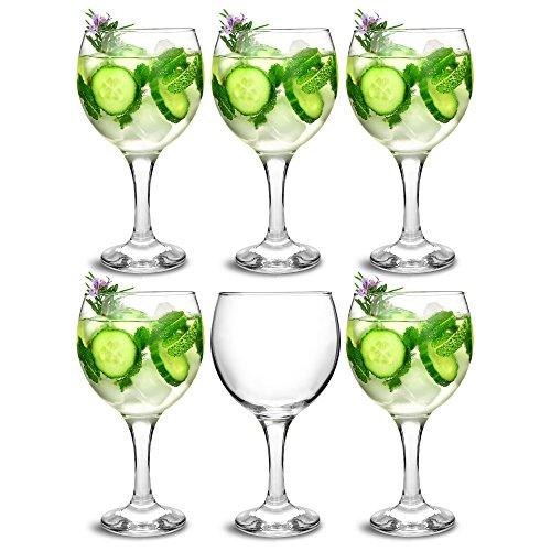 bar@drinkstuff Set da 6 ,City bicchieri da Gin e Cocktail 22,7 645 oz/ml in confezione Copa de...