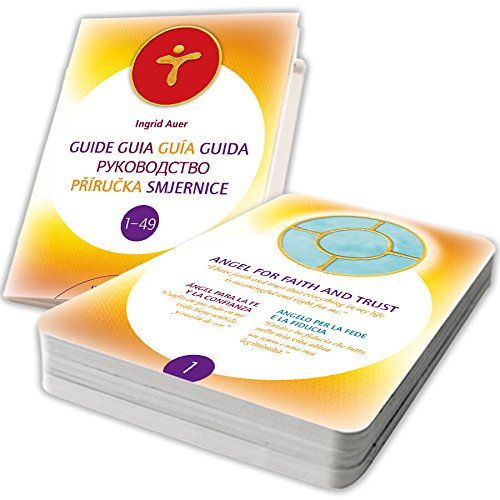 Símbolos Angelicales Energetizados - 49 Cartas energetizadas (EN/ES/IT) + 1 guía