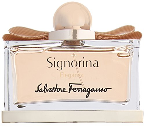 Salvatore Ferragamo Signorina Eleganza Eau de Parfum Spray, 3.4 Fluid Ounce