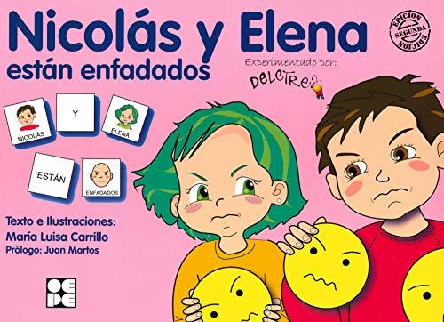 Pictogramas: Nicolás y Elena están enfadados: 25 (Pictogra