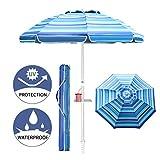 Aclumsy 7ft Beach Umbrella...