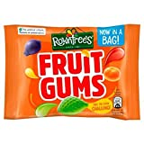 Rowntrees Fruit Gums Sachet 43.5g An assortment of our fruit shaped flavoured gums No artificial colours, flavours or preservatives