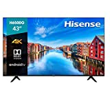 Hisense 43-Inch Class H6570G 4K Ultra HD Android Smart TV with Alexa Compatibility, (43H6570G, 2020 Model)