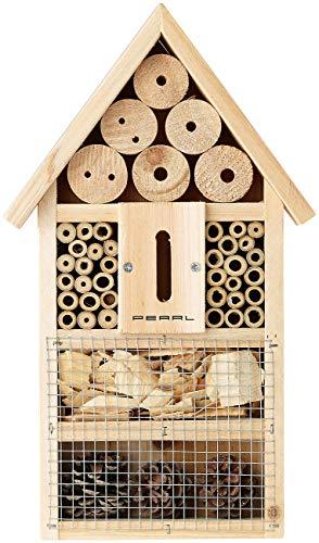 PEARL Insektenhaus: Insektenhotel-Bausatz, Nisthilfe und Schutz für Nützlinge (Insektenhotel Bausatz Kinder)