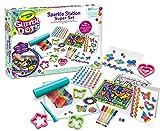 CRAYOLA Dots, Sparkle Station Super Set, per Creare Scintillanti Decorazioni con Il Glitter Modellabile, attività Creativa e Regalo per Bambini, età 6+, Multicolore, 25-1085