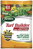 Scotts Turf Builder WinterGuard Fall Weed and Feed 3: Covers up to 15,000 Sq Ft, Fertilizer, 43 lbs., Not Available in FL