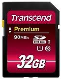 Transcend 32GB SDHC Class 10 UHS-1...