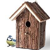 Gardigo - Nichoir à Oiseaux; Maison, Nid pour Oiseaux, Moineau, Mésanges en Bois, Extérieur; Décoration Jardin, Terrasse ou Balcon