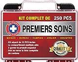 Stay Prepared 250 Pièces Trousse de Premiers Soins Ultra Complète Premium...
