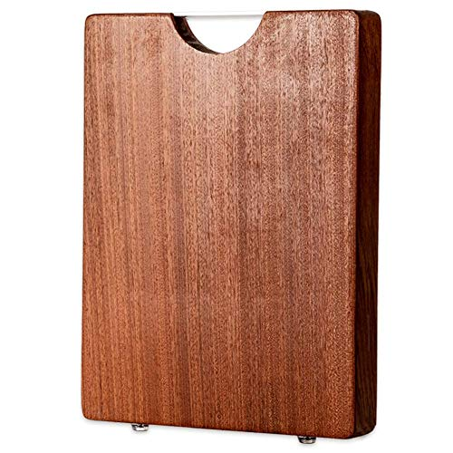 Extra Large Wood Cutting Board for Kitchen Thick wooden cutting board With Handle 13.8x19.7x1.2 inch Ucarfor Butcher Block Chopping Boards for Meat, Vegetables