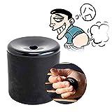VANTIYAUS Create Smart Gadget Farting Sounds Funny Squeeze Fake Fart Pooter Gag Joke Machine Party (Black)