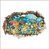 Stickers Muraux Pokémon Pikachu Autocollant Mural pour Chambre Enfants Bébé...