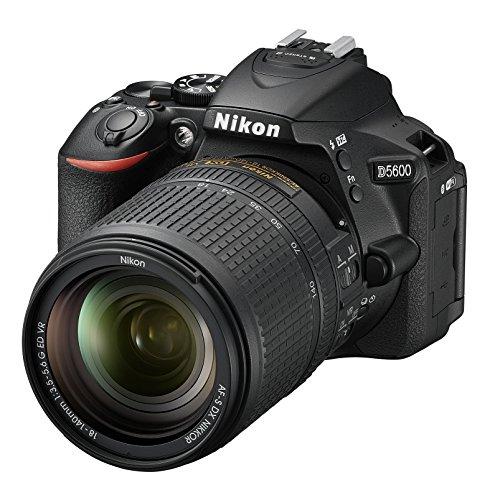 Nikon D5600 DX-format DSLR w/ AF-S DX NIKKOR 18-140mm f/3.5-5.6G ED VR