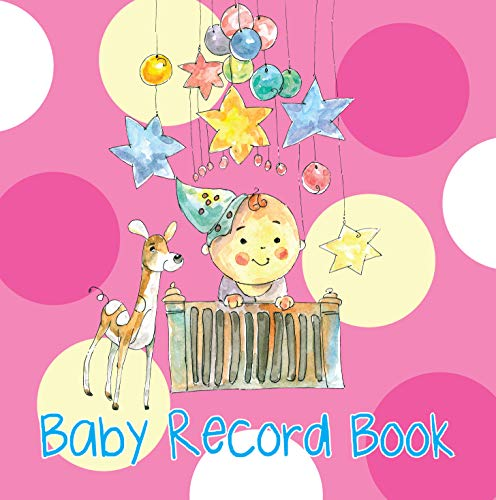 Record Book: Baby Record Books for Girls (Pink): Pink book