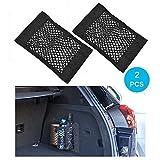 Trunk Storage Net, Wady 2 Pack coffre arrière de voiture Back Seat Sticker...