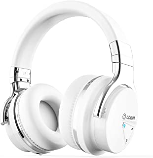 COWIN E7 Active Noise Cancelling Bluetooth Headphones with Microphone Wireless Headphones..