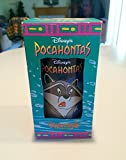 DISNEY'S POCAHONTAS ~ MEEKO & FLIT Drinking Glass Cup Collectable Colors of The Wind Collection