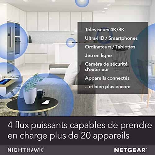 51jeBL1gAgL._SL500_ [Bon plan] !  NETGEAR Système WiFi 6 Mesh Nighthawk (MK62) – Routeur WiFi 6 AX1800 pack de 2 pour un wifi partout dans la maison,...