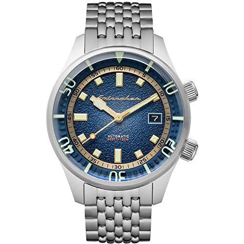 Spinnaker Herren Automatik Armbanduhr mit Edelstahlband - Bradner SP-5062-22