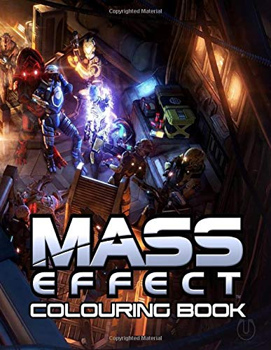 Mass Effect Colouring Book: 35+ beautiful illustrations inspired by the legendary game trilogy