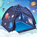 Play Tent for Kids, Gentle Monster Space World Tent, Universe Tent Indoor Playhouse for Boy, Imaginative Gift for Toddlers & Children 2 3 4 Years Old and Up - 2021 Updated