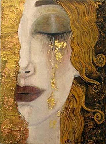TIEZI Le Lacrime Dorate di Gustav Klimt 1000 Pieces Adult Puzzles Difficult DIY Puzzle Landscape...