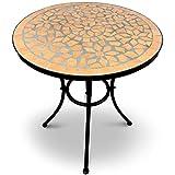 Jago Mosaiktisch rund oder eckig Stahl Mosaik - 4