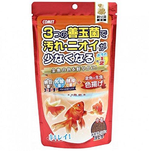 コメット 金魚の主食納豆菌 色揚げ 小粒 200g