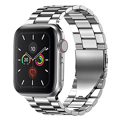 Fitlink stainless steel Apple Watch band for all Apple Watch models