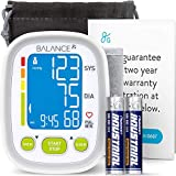 GreaterGoods Wrist Blood Pressure Monitor, FSA HSA Approved, FDA Cleared, Supplementary Travel Monitor, Large Cuff, Batteries and Warranty Included, (Large)