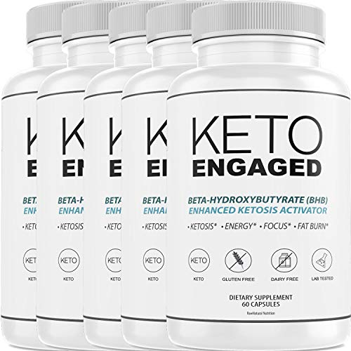 Keto Engaged - Burn Fat for Energy Not Carbs - Boost BHB Ketosis Ketones - Burn Stubborn Fat - Increase Energy & Focus Supplement (5 Month Supply) 1