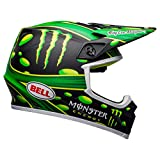 Bell MX-9 MIPS Off-Road Motorcycle Helmet (Showtime Replica Matte Black/Green, X-Large)