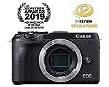 Canon Mirrorless Camera [EOS M6 Mark II] (Body) for Vlogging|CMOS (APS-C) Sensor| Dual Pixel CMOS Auto Focus| Wi-Fi |Bluetooth and 4K Video, Black