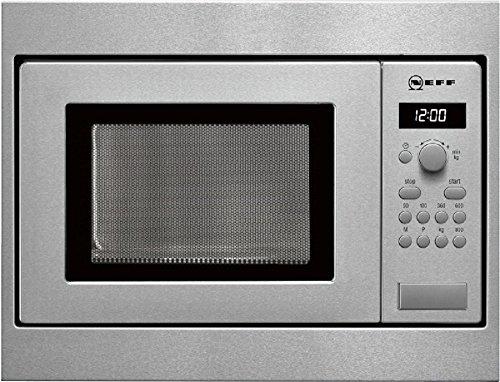 Neff H53W50N3 Einbau-Mikrowelle N30 / 36,4 x 45,3 cm (H x B) / 17 l / Edelstahl / Auftaufunktion / Garfunktion / 7 Automatikprogramme