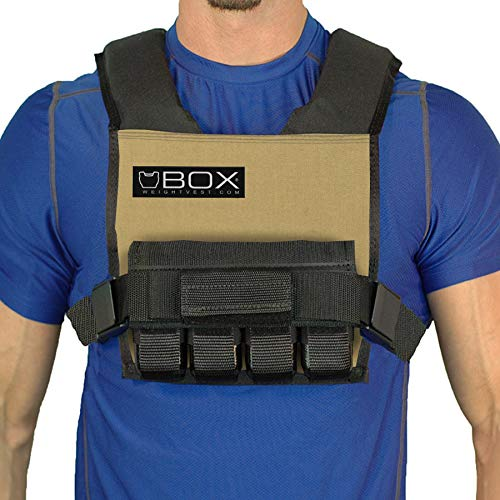 Box 20 Lb Super Short - Vest (Coyote Tan)