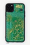 FLASH スコープドッグ 基板アートiPhone 11 Pro Maxケース 緑
