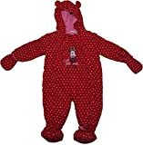 Minnie Mouse Disney Life Suprises Girls Full Winter Baby Jacket Body Suit Red 24 Months New 2017-2018