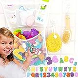 Tub Cubby Bath Toy Organizer +...