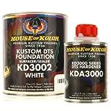 House of Kolor QUART KIT WHITE Color KD3000 DTS Surfacer / Sealer w/ Hardener