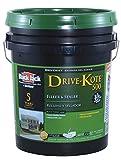 Black Jack Drive-Maxx 500 Matte Black Water-Based Rubberized Asphalt Driveway Sealer 4.75 gal.