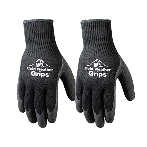 4. Cold Weather Latex Work Gloves